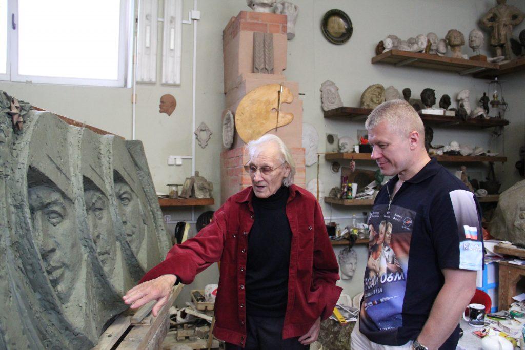 Монумент белорусским космонавтам