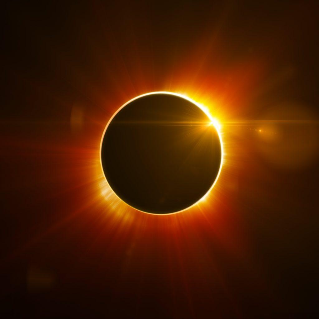2 июля ждем полное солнечное затмение!